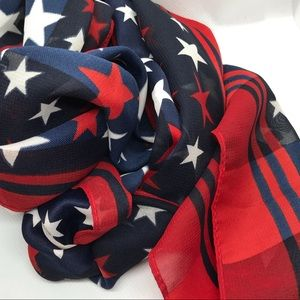 Accessories - Red, White & Blue forever scarf